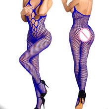 Women's Sexy Lingerie Bodystockings Babydolls Fishnet Underwear Plus Size Lenceria Erotica Mujer Sexi Porno Costumes #Z