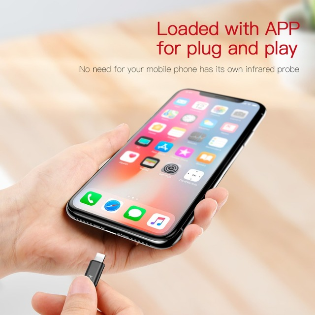 iPhone Remote Control Universal Infrared App All Devices Wireless ir iOS iPad TV