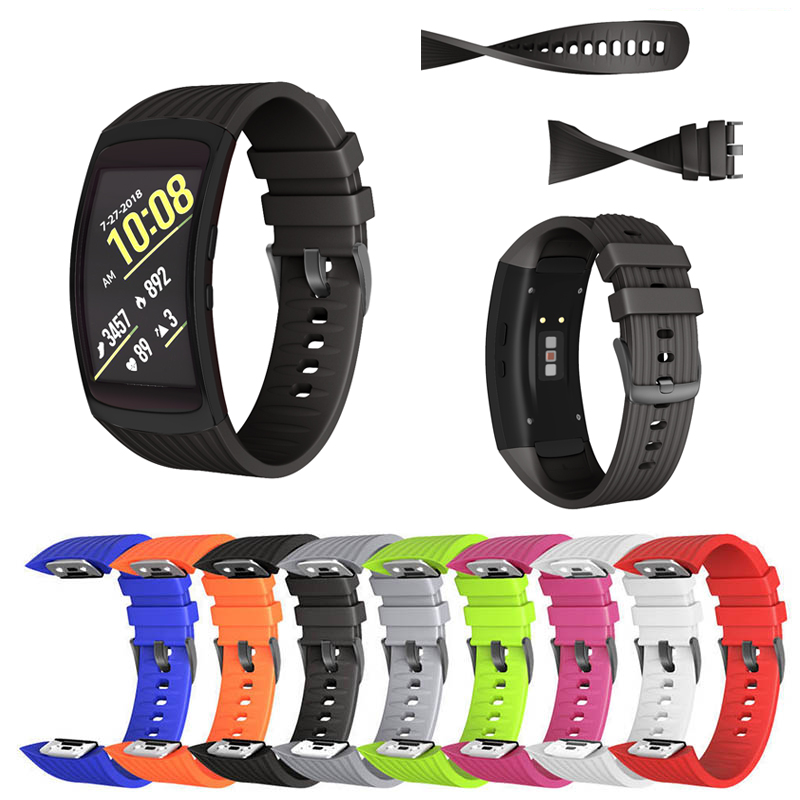 JKER Silicone Watchband Strap For Samsung Galaxy Gear Fit2 Pro Watch Band Wrist Bracelet Straps For Samsung Gear Fit 2 SM-R360
