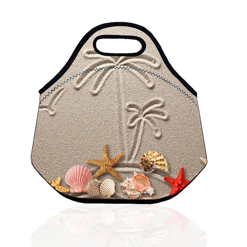 animados da borboleta de pavão Lunch Bag Neoprene : Thermal Bags For Hot Food