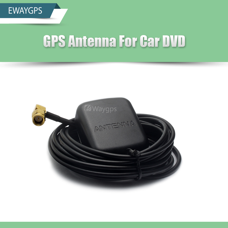 EWAYGPS GPS Antenna For Android Car DVD Factory Price Car DVD Gps Antenna SMA Connector Cable Length 3M car gps antenna gps receiver car dvd gps antenna with 3 5mm sma smb mcx mmcx bnc tnc fakra connector for mfd2 rns2 or other
