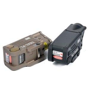 Image 4 - Taktik CNC bitmiş SBAL PL silah ışık el feneri Combo kırmızı lazer tabanca tüfek sabit ve flaş silah ışık CZ 75