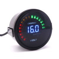 2 Inch 52mm 12V Car Digital Voltmeter Volt Gauge Meter 20 LED White 8 16V Digita