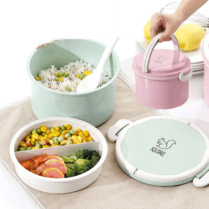 Cartoon School Children Bento Box Plastic Portable Food Storage Container Japan Style Microwave Lunch Boxs Chinese Meal Prep-in Lunch Boxes from Home ...  sc 1 st  AliExpress.com & Cartoon School Children Bento Box Plastic Portable Food Storage ...