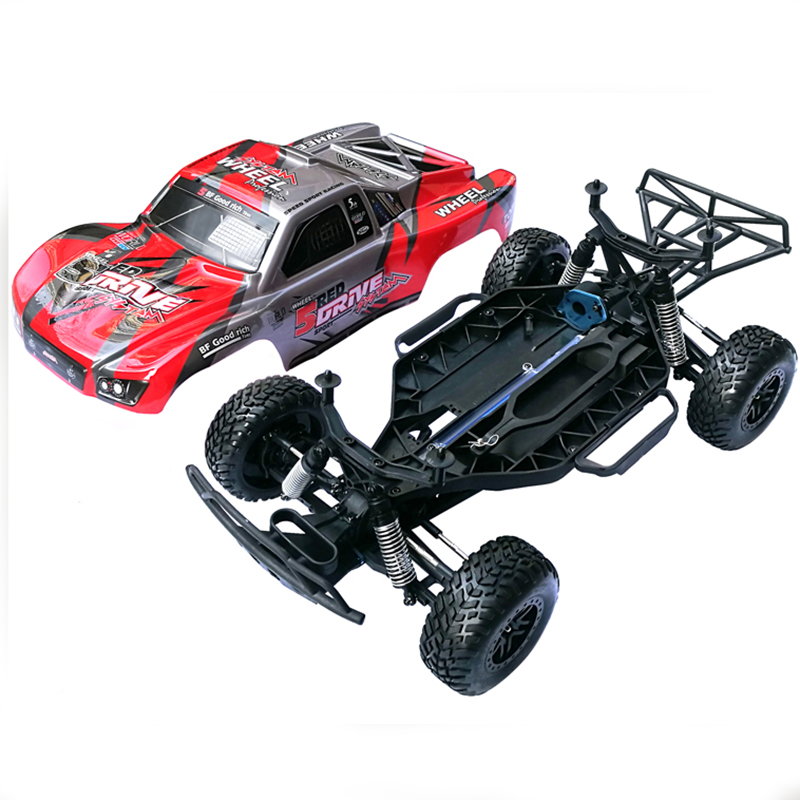 1/10 Brushless 2.4G 4WD RC Frame Not Include Electric Suspension Tyre Kit RC Car Part DIY Toys Confrontation With Traxx As Slash