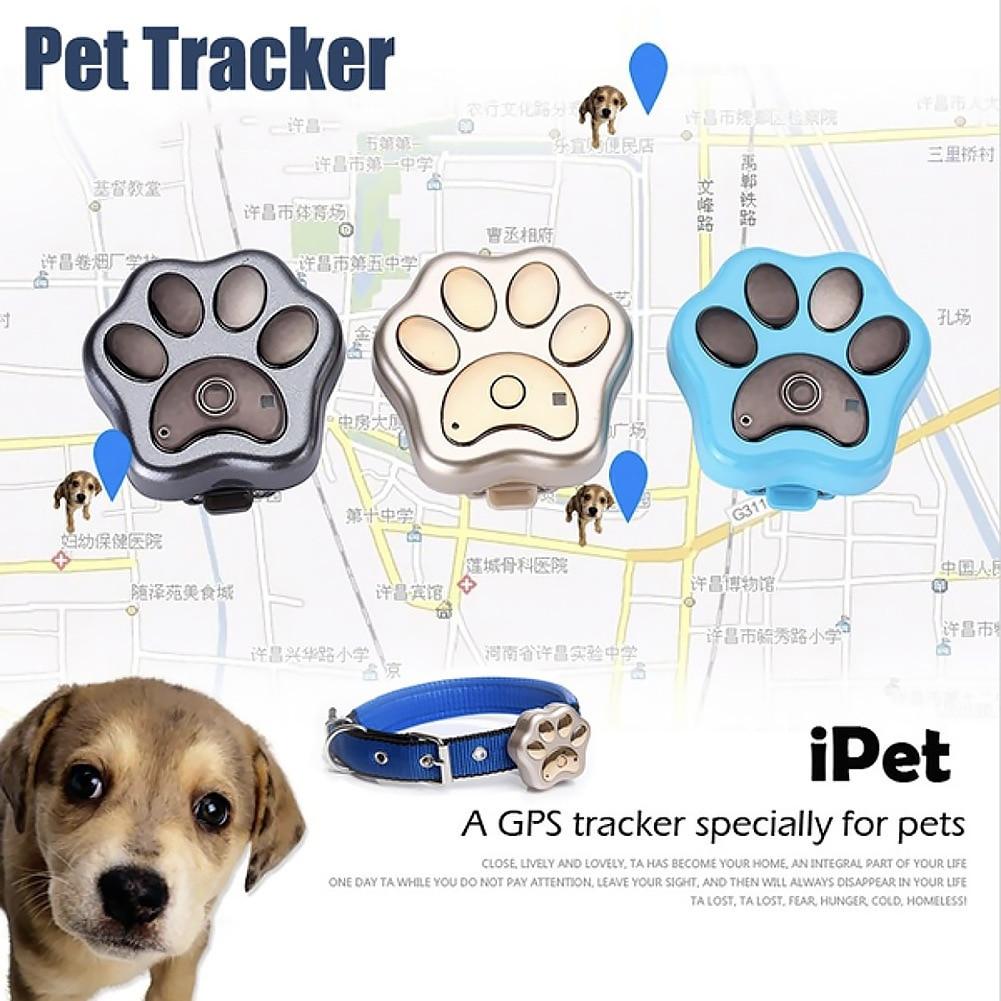 2018 nouveau RF-V32 sans fil de charge pour animaux de compagnie GPS étanche Intelligent localisateur 2G traqueur pour animaux de compagnie WIFI Anti-perte Mini GPS