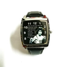 28a9f334ca2 Imperador dos desenhos animados Kung Fu Bruce Lee man relógio de pulso  relógio de Quartzo as