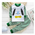 O envio gratuito de 0-12 m outono inverno de manga comprida além de veludo de algodão underwear pijamas crianças roupas de bebê da queda hot sale a0014