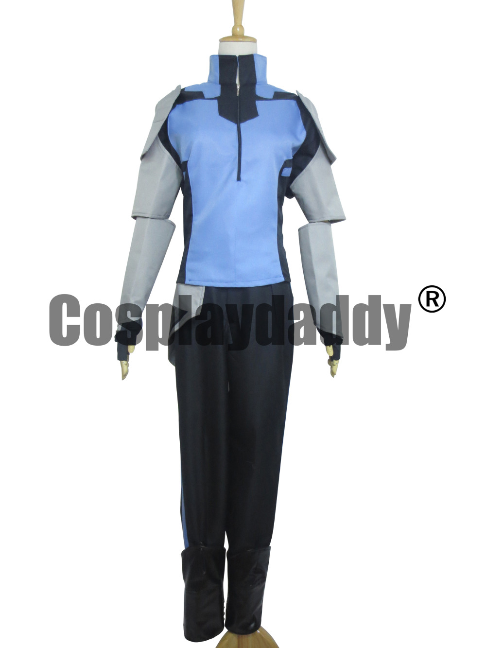 RWBY Mercury Black Uniform Suit Cosplay Costume S002