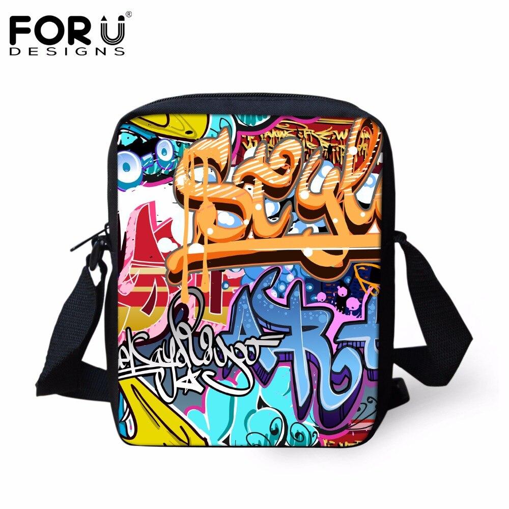 Cute Cartoon Messenger Bags for Kids Boys Girls Crossbody Bags,Child Mini Graffiti Cross Body Bags Travel Small Bags Women Totes