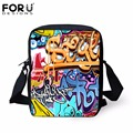 Lovely Cartoon Messenger Bags for Kids Boys Girls Crossbody Bags,Child Mini Graffiti Cross Body Bags Travel Small Bags Women
