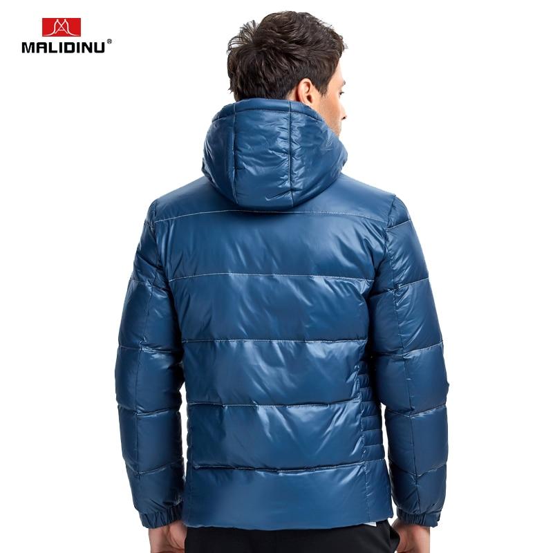 MALIDINU 2019 Merk Donsjack Mannen Winter Down Jas Donsjack Man Hooded Red Winter Warm Jas Big Mens Size winter Jassen - 4