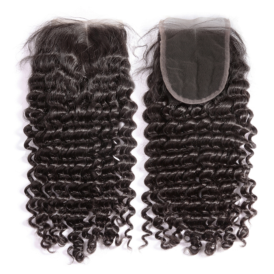HTB14WXPAeuSBuNjy1Xcq6AYjFXaM Luvin Deep Wave 28 30 inch 3 4 Bundles With 5x5 Lace Closure and 13x4 Frontal Brazilian Human Hair Weave Curly Remy Water Wave