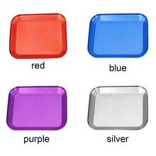 5PC/LOT New Aluminium Screw Tray with Magnetic for RC Model Phone Repair different color ship