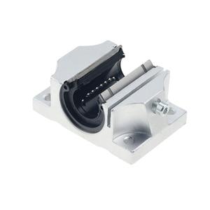 Image 2 - 4 шт., бесплатная доставка, TBR20UU, 20 мм, Линейный шаровой подшипник, поддержка блока, фрезерный станок с ЧПУ