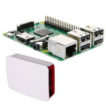 Wholesale New Version For Raspberry Pi 3 Model 3 B Onboard wifi Bluetooth Module + Case / Shell / Box