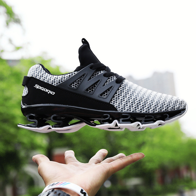 5d2549849 Sports Shoes Yeezys Air Blade Breathable Mesh Men Running Shoes Tennis  Outdoor Fitness Male Travel Shoes Spor Ayakkabi Erkek 47-in Running Shoes  from Sports ...