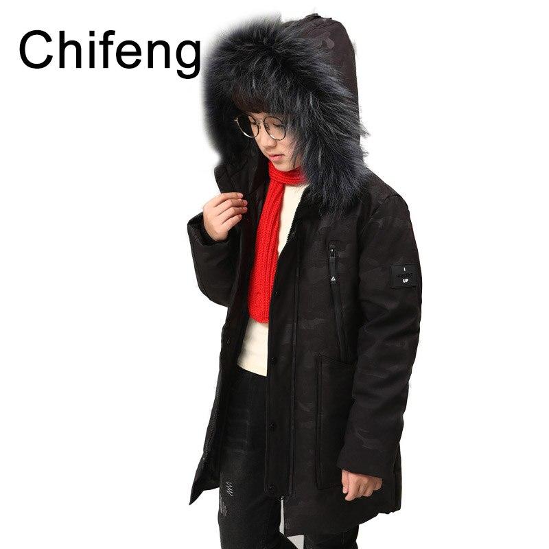 boys outerwear kids warm winter coats boy down jacket 2017 children's fashion coat kid clothing