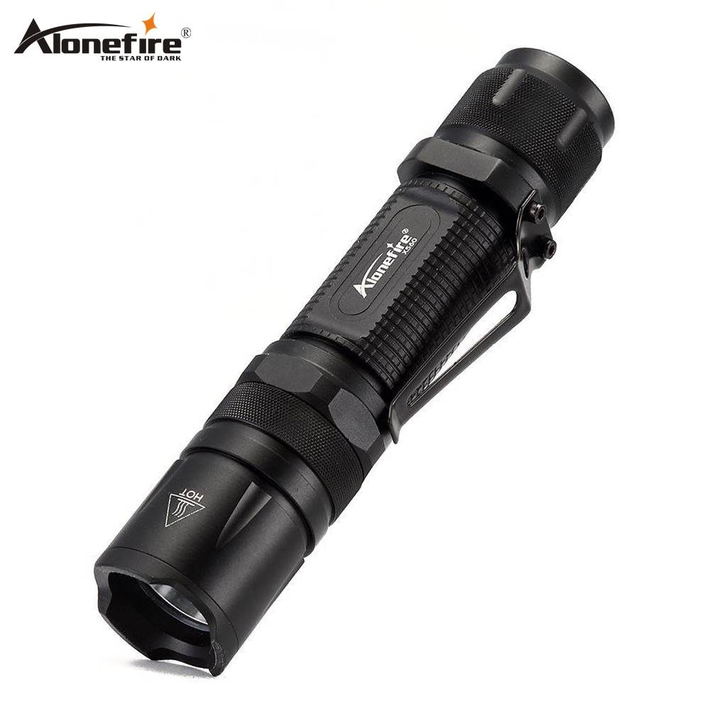 AloneFire X560 CREE XP-L V6 Led Mini Flashlight  Torch Pocket Handy Light Lanterna Outdoor Camping Ligh