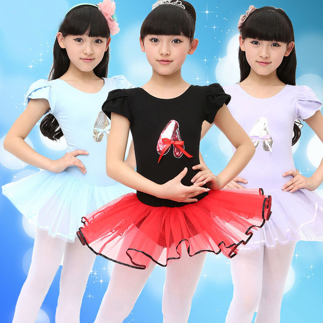 School Class Performance Girls Ballet Dress For Children Girl Dance Clothing Kids Kid -8928
