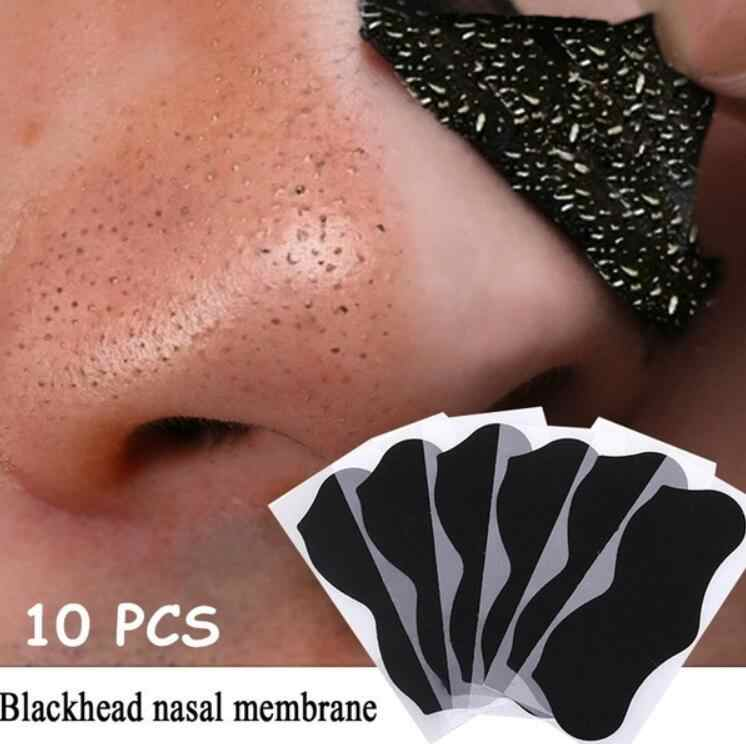 10 20 50pcs האף חטט Remover מסכה נקבובית אקנה טיפול מסכת עמוק האף נקבובית Cleasing רצועות שחור ראש remover כלי