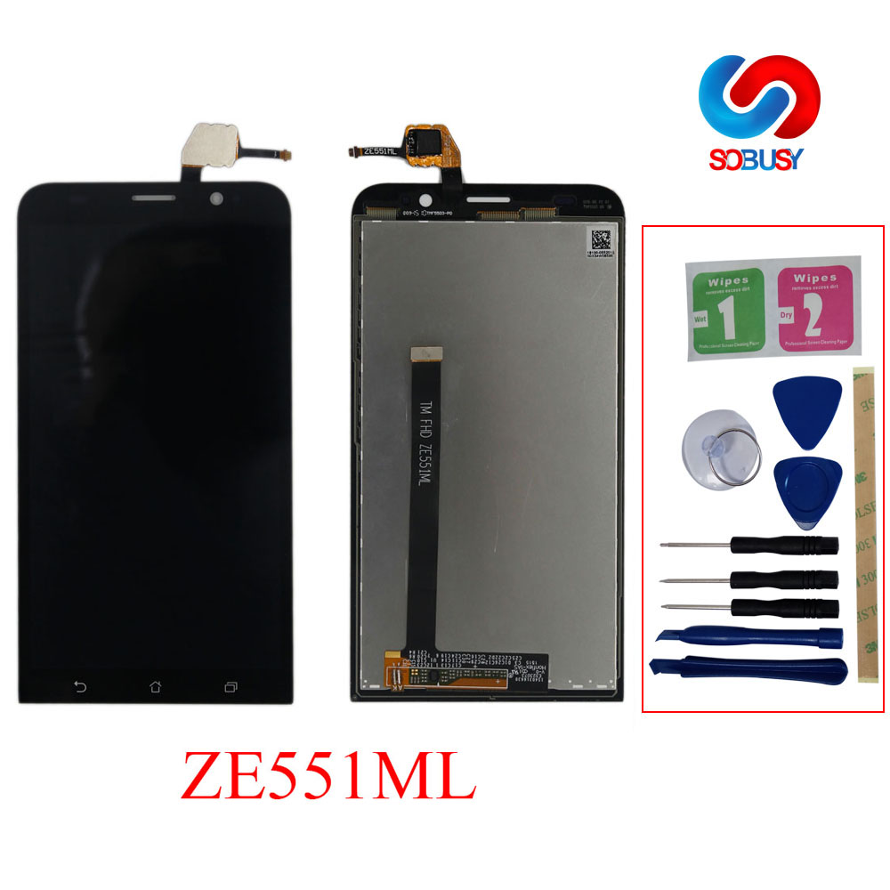 5.5 Tested LCD For ASUS Zenfone 2 ZE551ML LCD Display Touch Screen Panel Digitizer Z00AD LCD Tela Replacement parts with frame5.5 Tested LCD For ASUS Zenfone 2 ZE551ML LCD Display Touch Screen Panel Digitizer Z00AD LCD Tela Replacement parts with frame