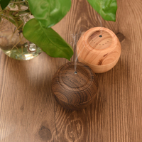 USB Wooden Fragrance Humidifier Wooden Humidifier Gift Customization