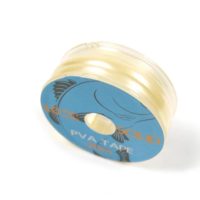 1pc 10mm x 20m PVA Tape Fast Dissolving Carp Fishing Tackle Accessories L/&6