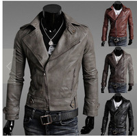 2017 Hot Spring And New Age Of The Korean Version Of The Motorcycle Slim Leather Jacket