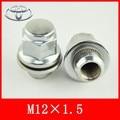 4 Unids/set M12x1.5 tuerca con arandela de la rueda de toyota y Lexus serie, cronw, rav4, rezi, la tuerca del neumático,