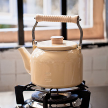 Klassischen japanischen stil topf 1.5L emaille wasserkocher kaffeekanne blume topf elektromagnetischen ofen allgemeinen blumentopf Induktionsherd