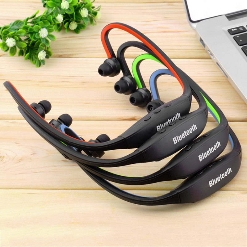 Extra Bass Sound Sport Wireless Bluetooth Headset Neckband Earphone Headphones For iPad Samsung Galaxy S4 Mobile Phone PC remax rb t2 fashion aluminum bluetooth earphone wireless hd clear sound headset for iphone 5 6 samsung galaxy s4 android phone
