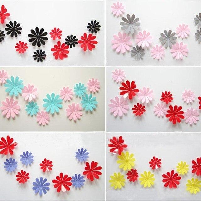 Aliexpress buy 12pcs diy 3d flower stickers bedroom window diy 12pcs diy 3d flower stickers bedroom window diy wall stickers home decorating 3d paper sticker mightylinksfo