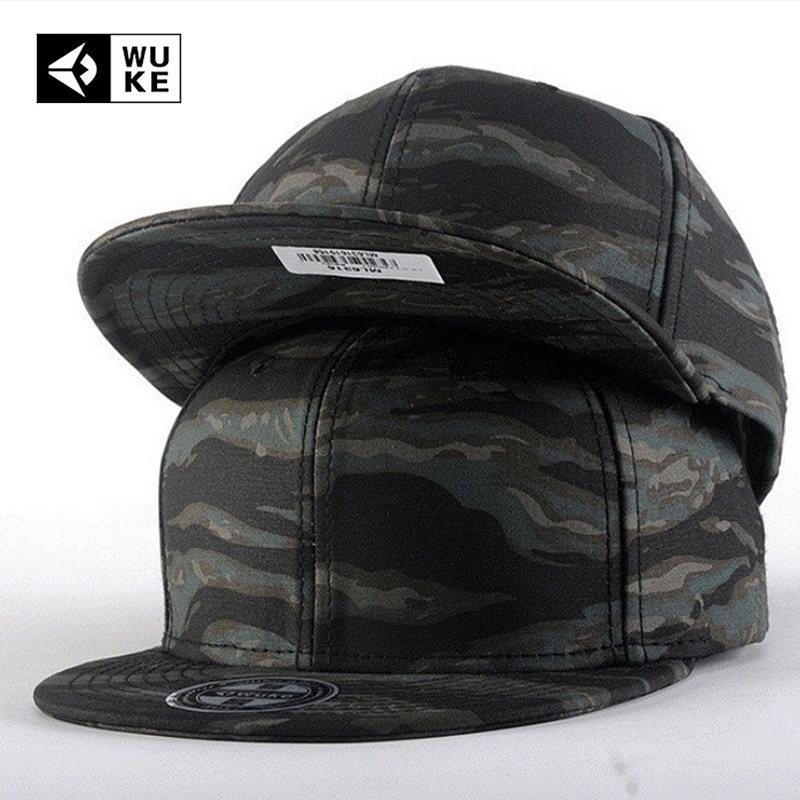 Camo Camouflage Hysteresenkappen 2016 Neue Gorras Planas Hip Hop - Bekleidungszubehör