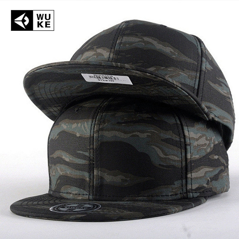 Flexfit Brand Camo Snapback   Caps   2017 New Hip Hop Hats For Men Women Camouflage   Baseball     Cap   Style Trucker Bone Aba Reta 2018