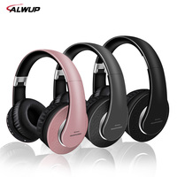 AlWUP Wireless Bluetooth Headphones For Samsung Galaxy PC Support Radio Mp3 Player With Microphone Bluetooth Wireless