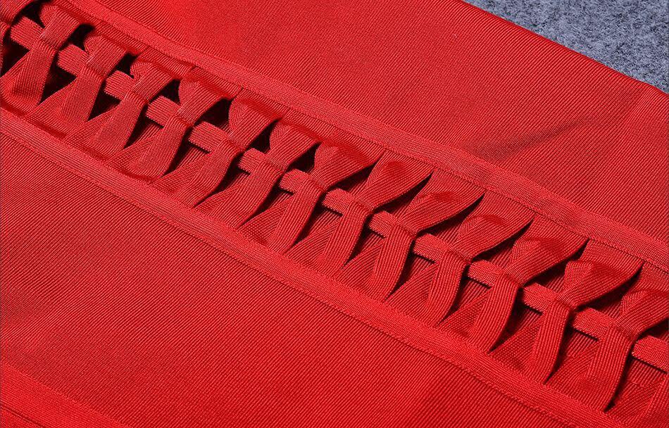 SUE Midi Party Red 29