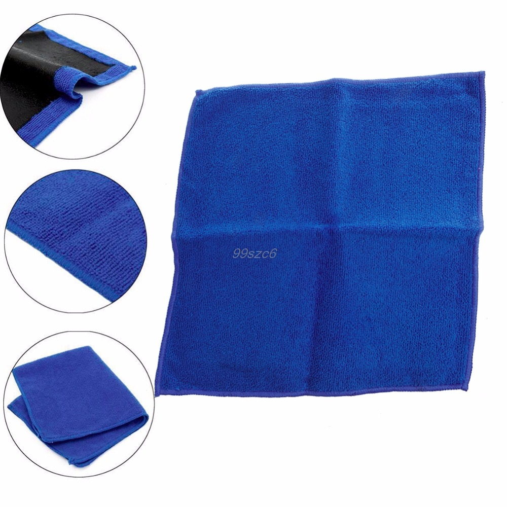 Clay Bar Microfibre Mitt Cloth Towel Car Detailing Cleaning Cloth 12x12 DropShip