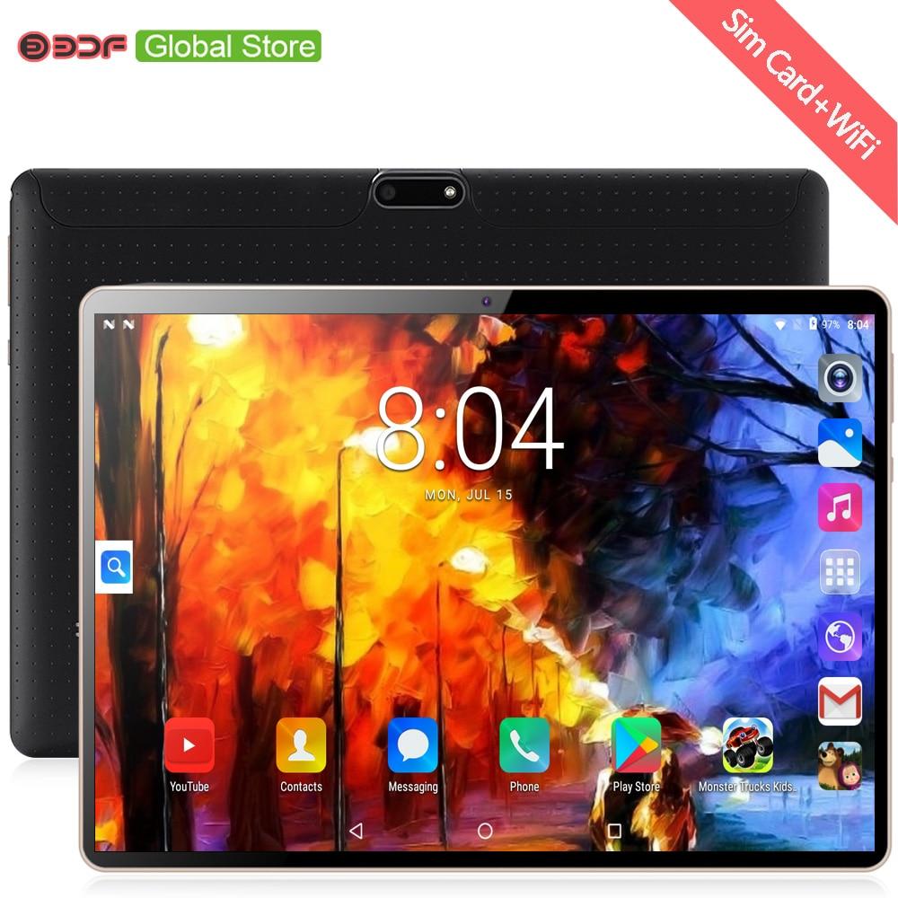 10 cal oryginalny 3G telefon otrzymać telefon zwrotny od karty SIM Android 7.0 Octa 8 rdzeń CE marki WiFi FM Tablet pc 4GB + 64GB android 7.0 Tablet Pc 5Mp w Tablety Android od Komputer i biuro na AliExpress - 11.11_Double 11Singles' Day 1