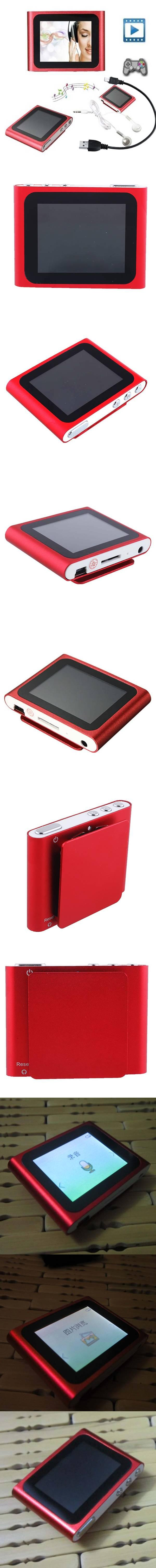 portable 1 8 inch lcd screen display mp4 player 6th generation music