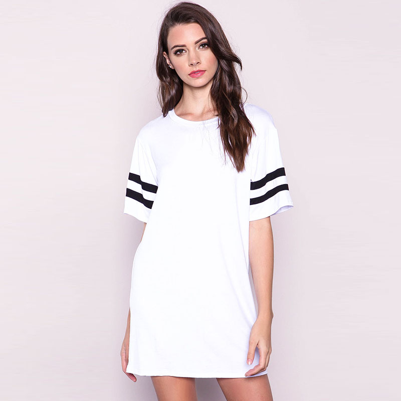 Popular White T Shirt Dress-Buy Cheap White T Shirt Dress lots ...