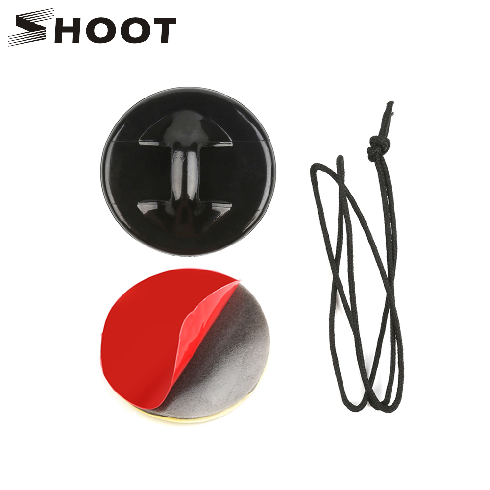 SHOOT Surfing Safety Insurance Clasp Tethers Mount Adhesive Sticker For Gopro Hero 7 6 5 SJCAM SJ4000 Xiaomi Yi 4K H9 Accessory