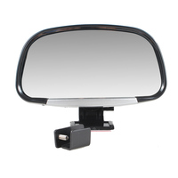 Vehicle Black Color Blind Spot Mirror Car Side Rear View Mirrors Auto Accessories Flat Wing Mirror