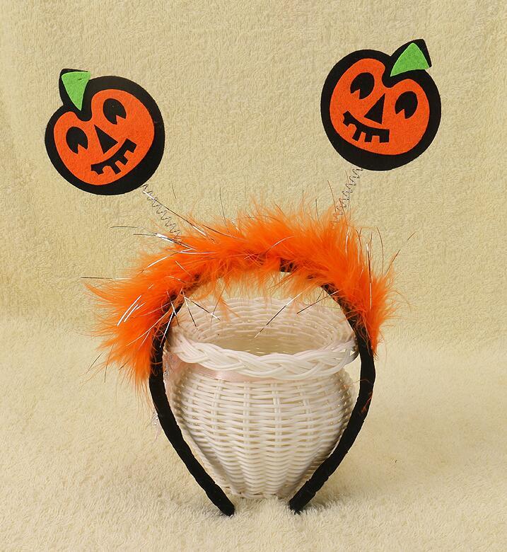 Halloween Cute Headbands Bat Hair Band Pumpkin Hoop Kids and Adults Party