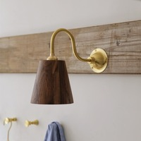 Светодиодный настенный светильник спальный туалетный свет заднего зеркала настенные бра деревянная аппликация Murale светильник столовая, к