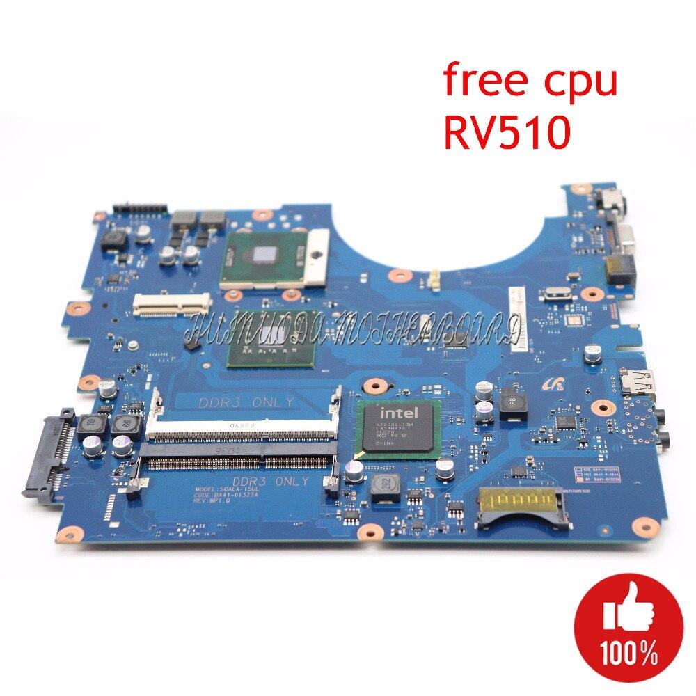 NOKOTION Laptop Motherboard For Samsung RV510 BA41 01323A BA92 06564A BA92 06564B GL40 DDR3 Main Board