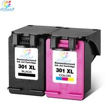 Hisaint Список 2 Упак. 301XL Чернильный Картридж для HP 301 xl CH563EE CH564EE для Deskjet 1000 1050 2000 2050 принтер