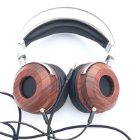 HiFi Headphones Shell Case 40MM 50MM Speakers High end Wooden Headphone Headset Shell Cover Case DIY
