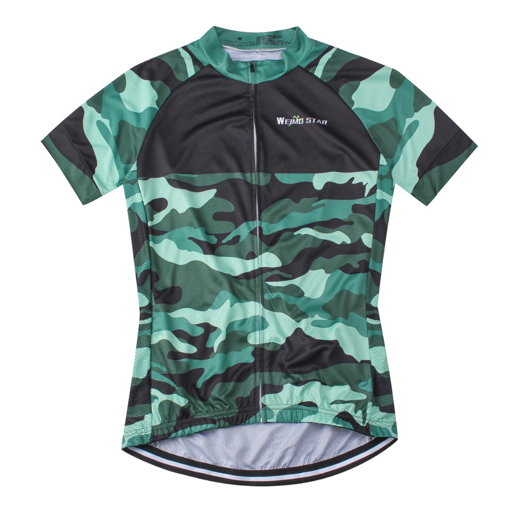 be146ae3e 2018 Team Camouflage Green Cycling Jersey Tops Pro Racing Cycling Clothing  Ropa Ciclismo mtb Bicycle Sportswear Cycling Clothes