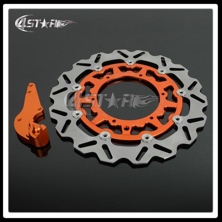 320MM Flaoting Brake Disc + Bracket For KTM SX GS MX XC SXF SXS XCF XCW EXC 125 144 250 300 350 380 400 450 500 520 540 600 620